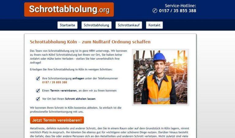 Ob Zinn, Zink, Kupfer oder anderes Altmetall, Schrottankauf in Köln zahlt Gegenwer