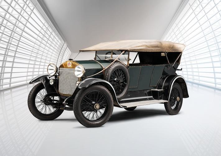 Laurin & Klement RK/M (1921): Lieblingsmodell des Rennfahrers Sascha Graf Kolowrat-Krakowsky