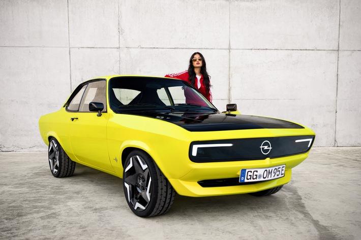 Erster ElektroMOD von Opel: Der Manta ist zurück
