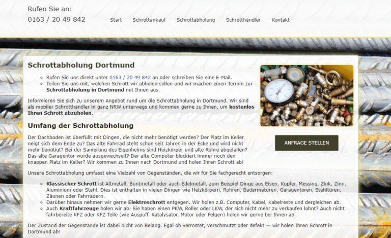 Schrottabholung Dortmund : Mit fachkundigem Blick unterstützen wir Sie bei der Sortierung der von Ihnen angelieferten Metalle