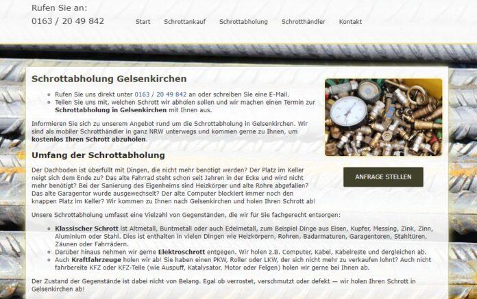 image 1 193 696x437 - Schrottabholung in Gelsenkirchen : Unser Schrott- und Metallhandel ist der ideale Partner für Sie.