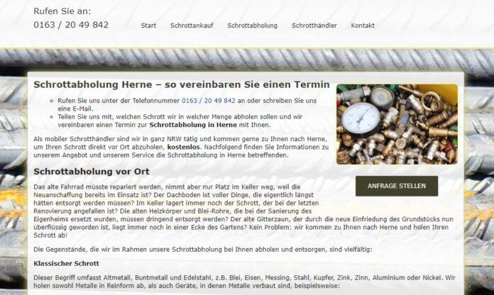 image 1 29 696x416 - Die Schrottabholung in Herne bietet die Abholung von Schrott sowie den Ankauf von Metallschrott in ganz NRW – Schrott-Ankauf-NRW
