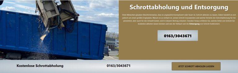 Schrottabholung Gelsenkirchen: Die Schrottabholung gehört zu den ältesten Gewerben überhaupt – und ist heute so wichtig wie eh und je …