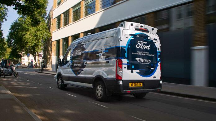 image 1 118 696x392 - Paketzustellung mit selbstfahrenden Transportern: Ford und Hermes starten Pilotprojekt
