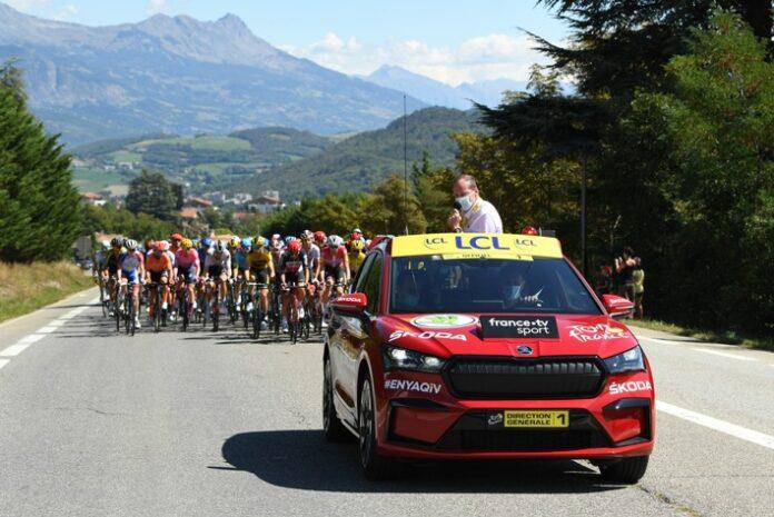 image 1 131 696x465 - ŠKODA AUTO zum 18. Mal offizieller Hauptpartner der Tour de France