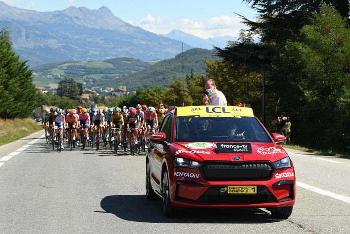 ŠKODA AUTO zum 18. Mal offizieller Hauptpartner der Tour de France