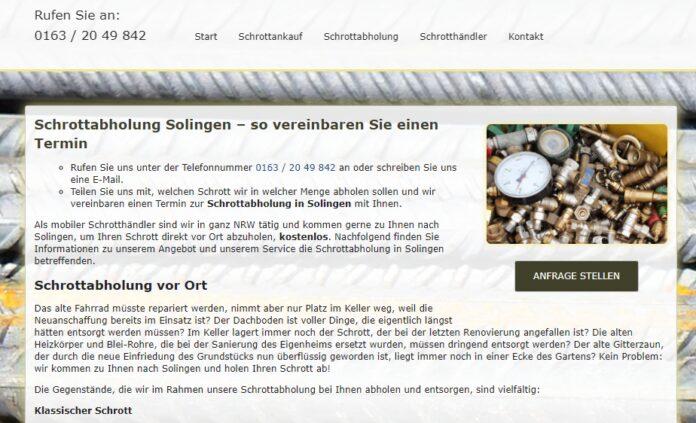 image 1 134 696x423 - Schrottabholung Solingen: Fahrende Schrotthändler aus Solingen nehmen alles mit