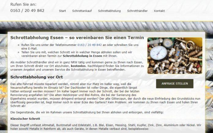 image 1 152 696x434 - In Essen kostenlos Schrottabholung schneller Service mit Schrott-Ankauf-NRW