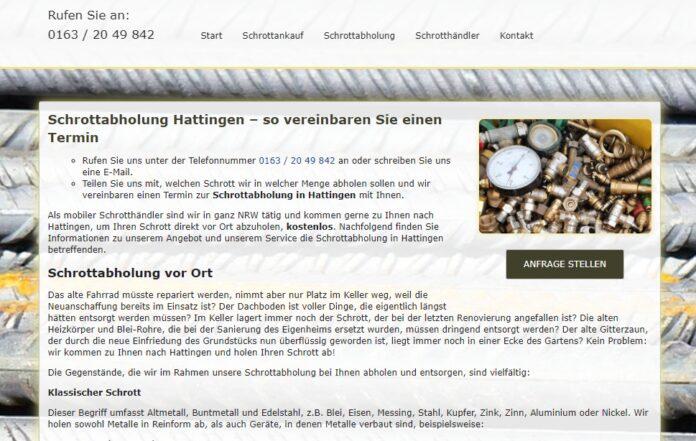image 1 165 696x441 - Schrottabholung in Hattingen : Was passiert nach der Abholung?