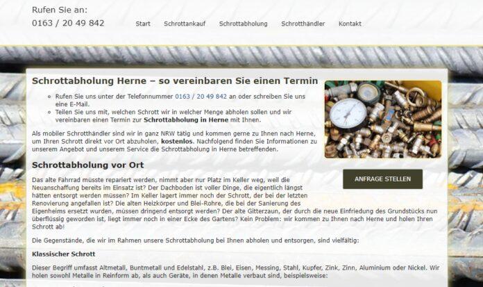 image 1 172 696x413 - Schrottabholung und Schrottankauf aus einer Hand mit dem Schrottabholung in Herne