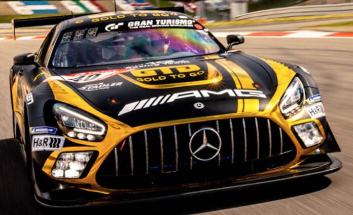 image 1 48 696x423 - Auf Anhieb TOP 10 – GOLD-TO-GO-Mercedes beim Nürburgrennen