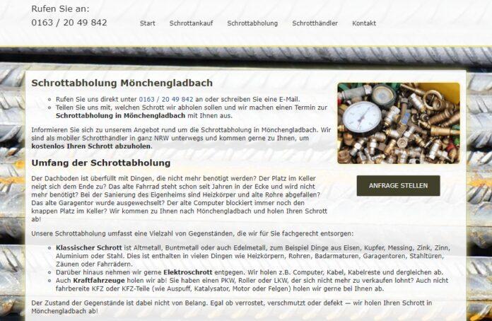 image 1 56 696x454 - Schrottabholung in Mönchengladbach : Ihr Partner für Schrottabholung und Altmetallhandel