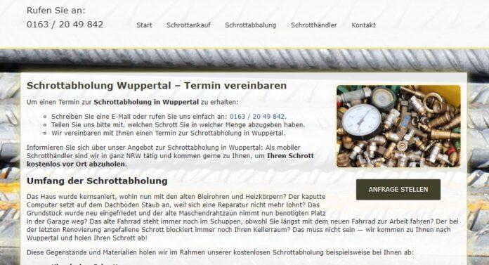 image 1 93 696x377 - Schrottabholung in Wuppertal von der Demontage bis zur ordnungsgemäßen Entsorgung