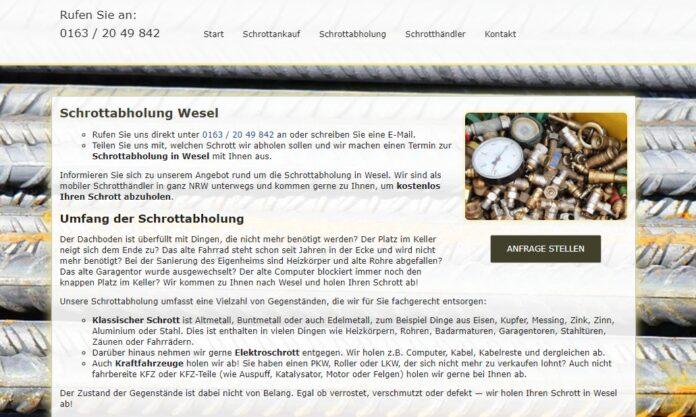 image 1 95 696x417 - Schrottabholung in Wesel – Schrott-Ankauf-NRW