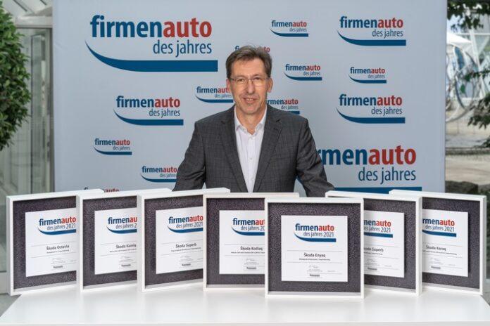 image 1 106 696x464 - ŠKODA gewinnt sieben Titel bei der Wahl 'Firmenauto des Jahres 2021'