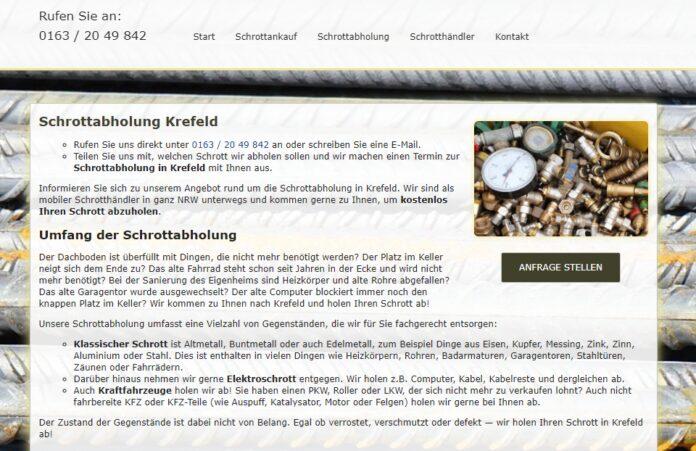 image 1 22 696x451 - Schrotthandel und Metallhandel in Krefeld und Umland. Wir entsorgen Ihren Schrott – in allen Größenordnungen