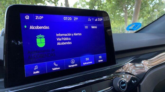 image 1 49 696x391 - Ford erprobt Messaging-System mit kommunaler Daten-Anbindung für sicheres und effizientes Fahren in der Stadt