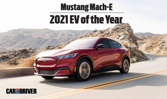 """image 1 64 696x413 - Sieg für den Ford Mustang Mach-E beim ersten """"Electric Vehicle of the Year Award 2021"""" von """"Car and Driver"""""""