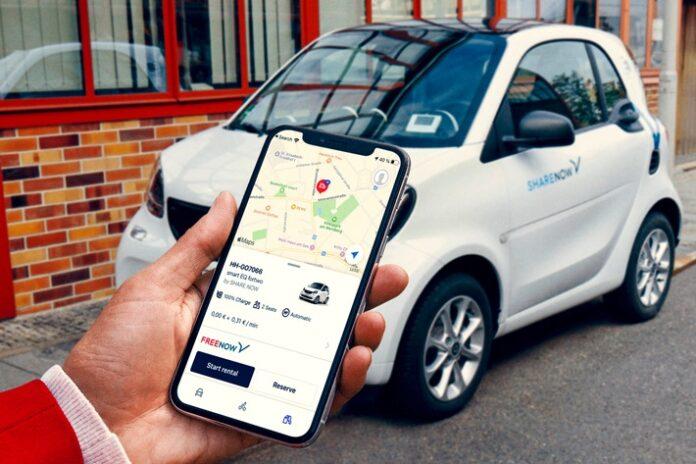 image 1 72 696x464 - FREE NOW integriert Carsharing-Fahrzeuge von SHARE NOW europaweit in seine App