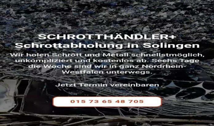 image 1 120 696x409 - Schrottabholung Solingen für die Kunden kostenlos ihren Metallschrott abholen zu lassen