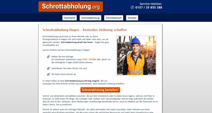 image 1 2 696x371 - Kostenlose Schrottabholung in Hagen: Altmetalle, Buntmetalle und Mischschrott