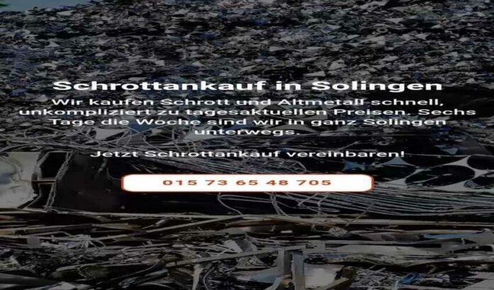 image 1 7 696x409 - Schrottankauf Solingen fairen Preisen verkaufen – schnell und unkompliziert